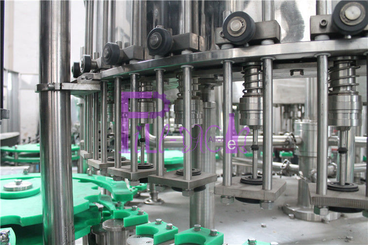 SUS304 Filling Machine Glass Bottled Alcohol Filler Crown Cap