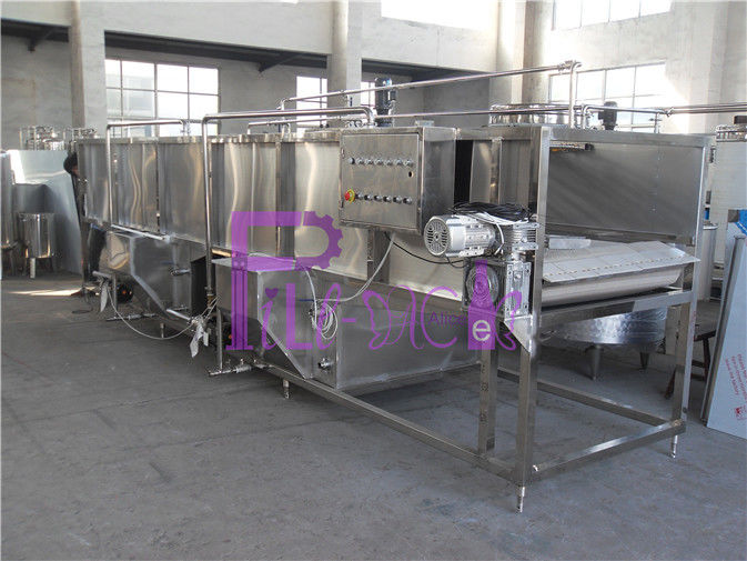 Beverage Processing Plastic Bottled Juice Cooling Sterilizer 80 - 60 ℃
