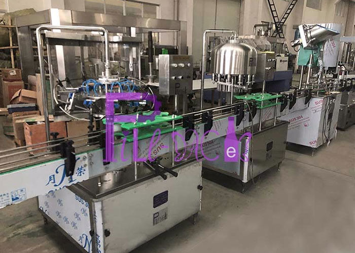 Pure Drinking PET Bottle Water 3 In 1 Monoblock Washing Filling Capping Equipment / Plant / Machine / System / Line